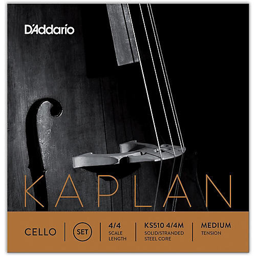 D'Addario Kaplan 4/4 Size Cello Strings 4/4 Size Medium