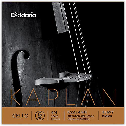 D'Addario Kaplan Series Cello G String 4/4 Size Heavy