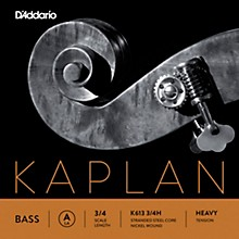 Kaplan Series Double Bass A String 3/4 Size Heavy