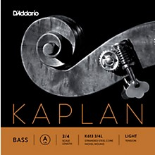Kaplan Series Double Bass A String 3/4 Size Light