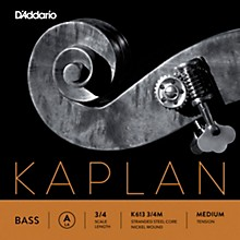 Kaplan Series Double Bass A String 3/4 Size Medium