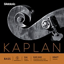 Kaplan Series Double Bass C (Extended E) String 3/4 Size Heavy