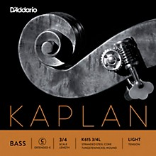 Kaplan Series Double Bass C (Extended E) String 3/4 Size Light