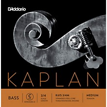 Kaplan Series Double Bass C (Extended E) String 3/4 Size Medium