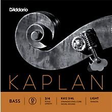 Kaplan Series Double Bass D String 3/4 Size Light