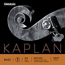 Kaplan Series Double Bass E String 3/4 Size Heavy