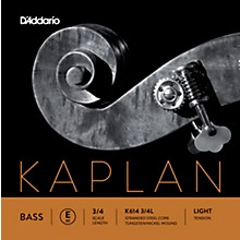 Kaplan Series Double Bass E String 3/4 Size Light
