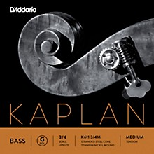 Kaplan Series Double Bass G String 3/4 Size Medium