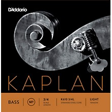 Kaplan Series Double Bass String Set 3/4 Size Light
