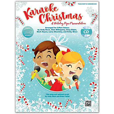 Alfred Karaoke Christmas CD Kit (Book & Enhanced CD)Grades 3-8