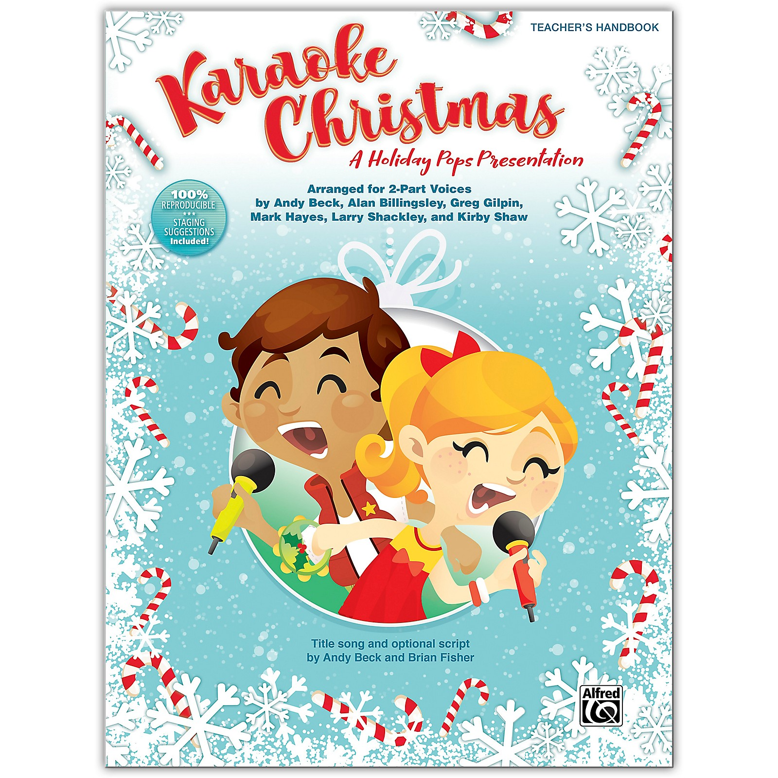 Alfred Karaoke Christmas Teacher's Handbook (100% Reproducible) Grades 3-8