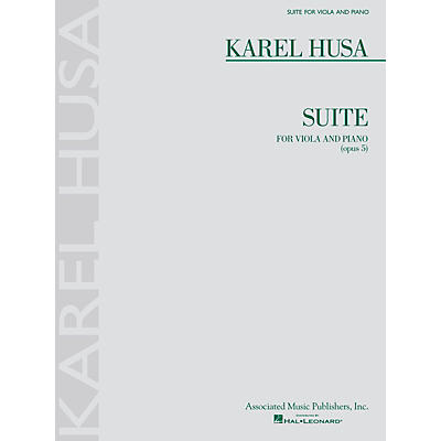 Associated Karel Husa - Suite for Viola and Piano, Op. 5 String Series