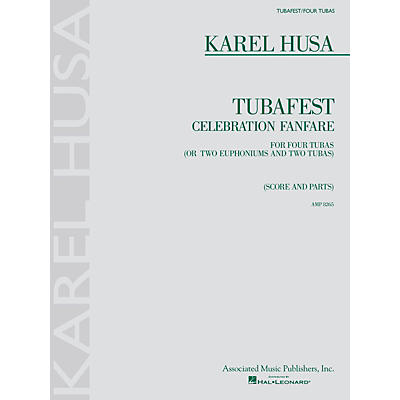 Associated Karel Husa - Tubafest Brass Ensemble Series Composed by Karel Husa