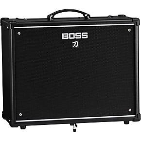 boss katana ktn 100 100w 1x12 guitar combo amplifier black musician 39 s friend. Black Bedroom Furniture Sets. Home Design Ideas