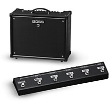 Boss Katana KTN-100 100W 1x12 Guitar Combo Amplifier with GA-FC Foot Controller