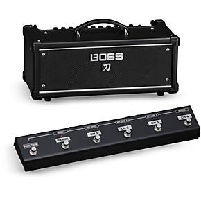 boss katana ktn head 100w guitar amplifier head with ga fc foot controller musician 39 s friend. Black Bedroom Furniture Sets. Home Design Ideas
