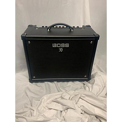 BOSS Katana KTN50 50W 1X12 Guitar Combo Amp