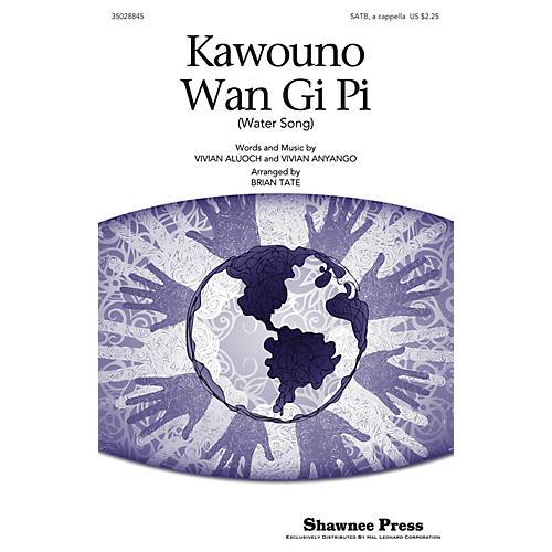 Shawnee Press Kawouno Wan Gi Pi SATB arranged by Brian Tate