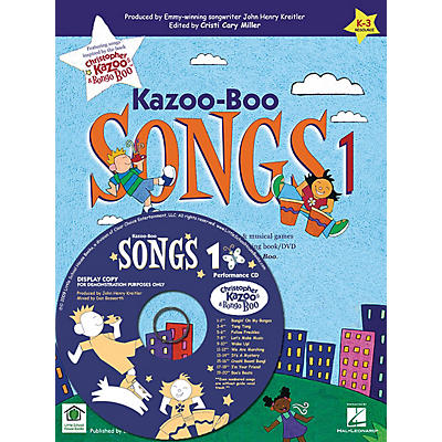 Artz Smartz Kazoo-Boo Songs 1 CD Composed by John Henry Kreitler