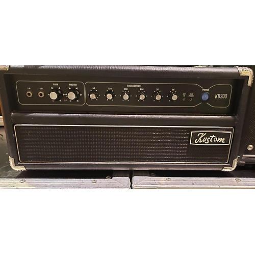 Kustom Kb200 Solid State Guitar Amp Head
