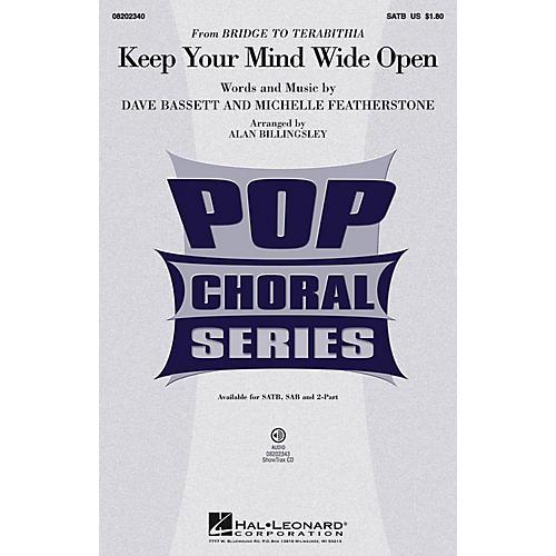 Hal Leonard Keep Your Mind Wide Open 2-Part by AnnaSophia Robb Arranged by Alan Billingsley