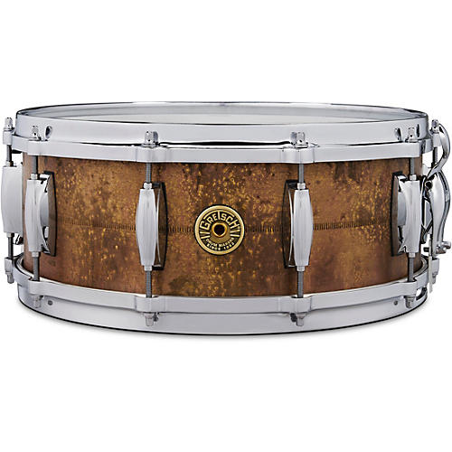 Gretsch Drums Keith Carlock Signature Snare Drum 14 x 5.5 in. Brass