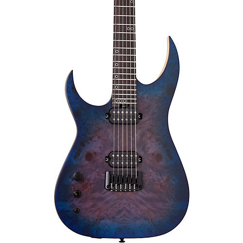 Schecter Guitar Research Keith Merrow KM-6 MK-III Artist Left-Handed Electric Guitar Blue Crimson