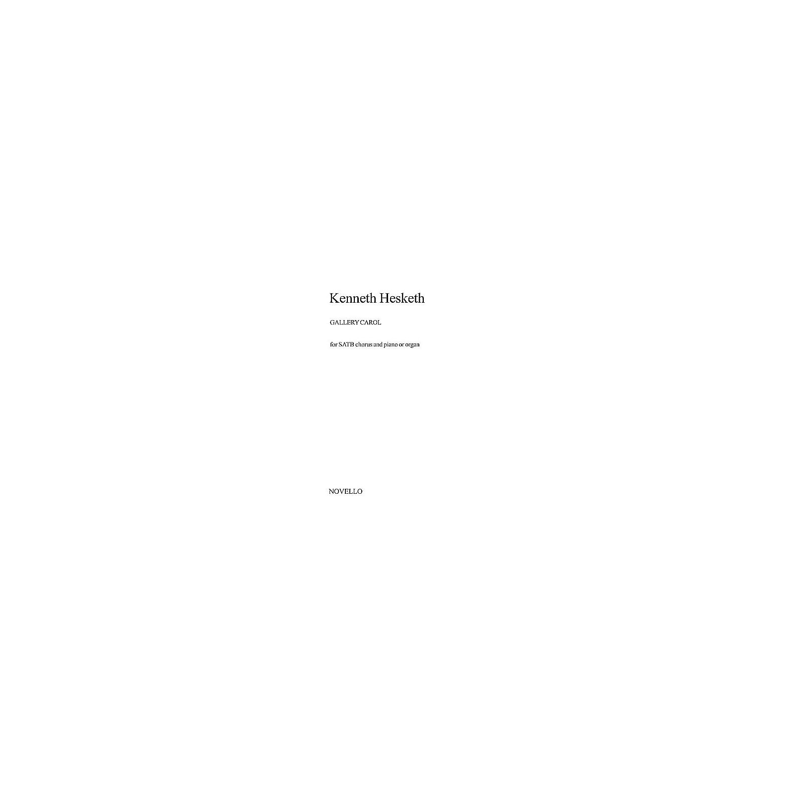 Music Sales Kenneth Hesketh: Gallery Carol SATB Music Sales America Series by Kenneth Hesketh