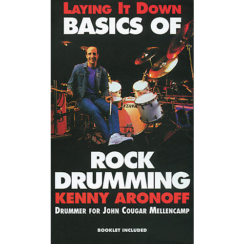 Alfred Kenny Aronoff Basics of Rock Drumming/Video (VHS)