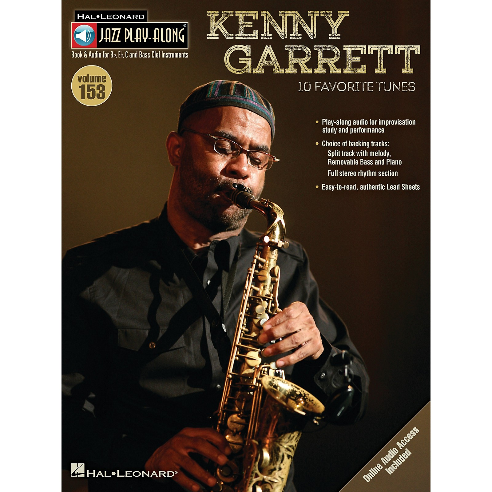 Hal Leonard Kenny Garrett (Jazz Play-Along Volume 153) Jazz Play Along Series Softcover Audio Online by Kenny Garrett