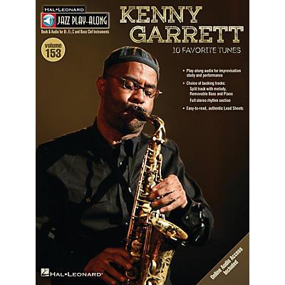 Hal Leonard Kenny Garrett (Jazz Play-Along Volume 153) Jazz Play Along Series Softcover Audio Online by Kenny Garrett