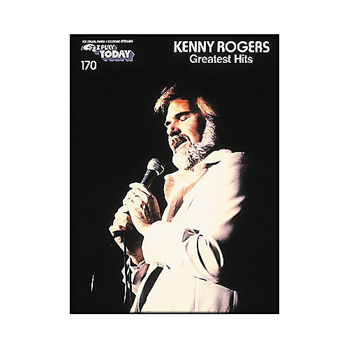 Hal Leonard Kenny Rogers Greatest Hits E-Z Play 170