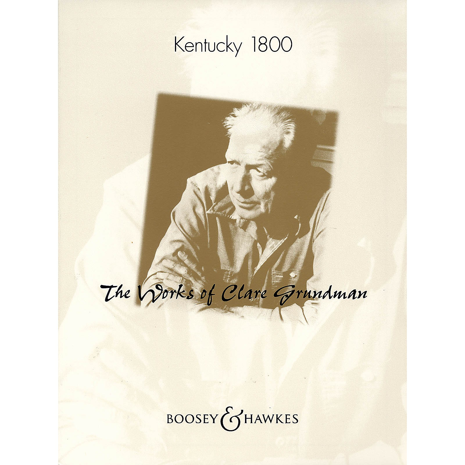 Boosey and Hawkes Kentucky 1800 Concert Band Composed by Clare Grundman