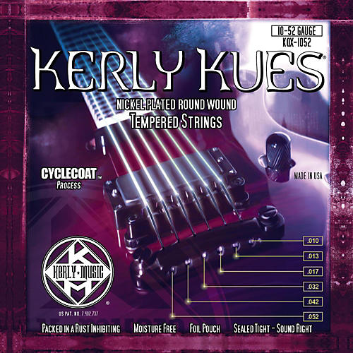 Kerly Music Kerly Kues Nickel Wound Electric Guitar Strings - Light Top Heavy Bottom
