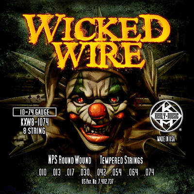 Kerly Music Kerly Wicked Wire NPS Electric 8-String 10-74