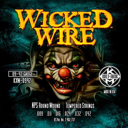 Kerly Music Kerly Wicked Wire NPS Electric Light 9-42