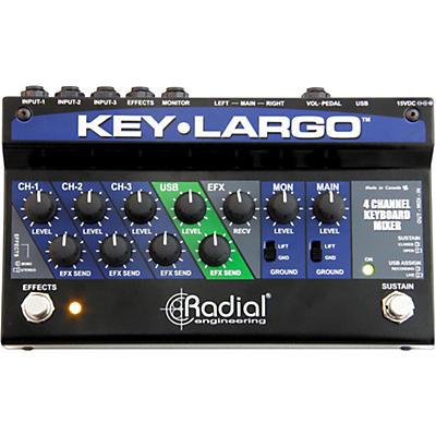 Radial Engineering Key-Largo Keyboard Mixer and Performance Pedal