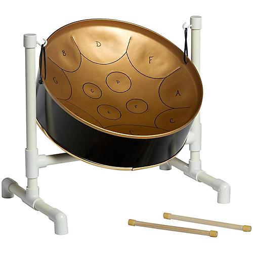 Fancy Pans Key Of C Mini Pan - 12 Notes Black/Gold