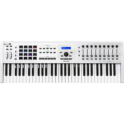 Arturia KeyLab 61 MKII Keyboard Controller White