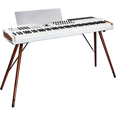 Arturia KeyLab 88 MKII Keyboard Controller and Matching Wooden Legs