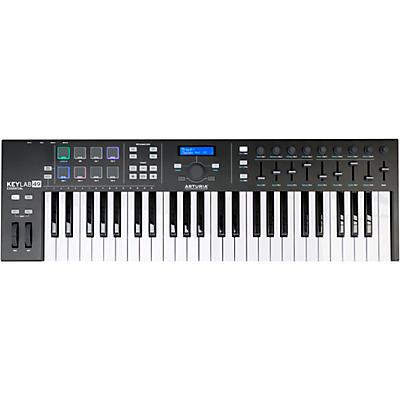 Arturia KeyLab Essential 49 MIDI Keyboard Controller Black