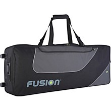 Open Box Fusion Keyboard 12 Gig Bag with Wheels (76-88 Keys)