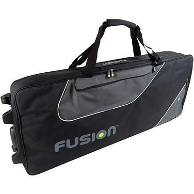 Fusion Keyboard 15 Gig Bag with Wheels (76-88 Keys)