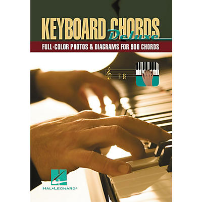 Hal Leonard Keyboard Chords Deluxe - Full Color Photos and Diagrams For 900 Chords (Book)