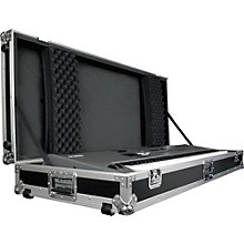 Open BoxRoad Runner Keyboard Flight Case with Casters