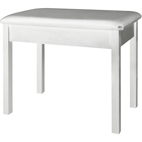 On-Stage Keyboard/Piano Bench (White) White