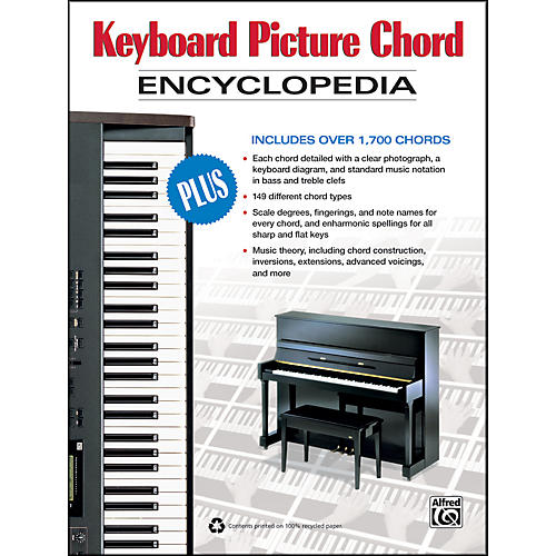 Alfred Keyboard Picture Chord Encyclopedia (Book) | Musician\'s Friend