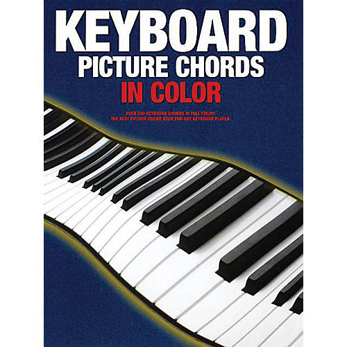 Music Sales Keyboard Picture Chords in Color Music Sales America Series Softcover Written by Various Authors