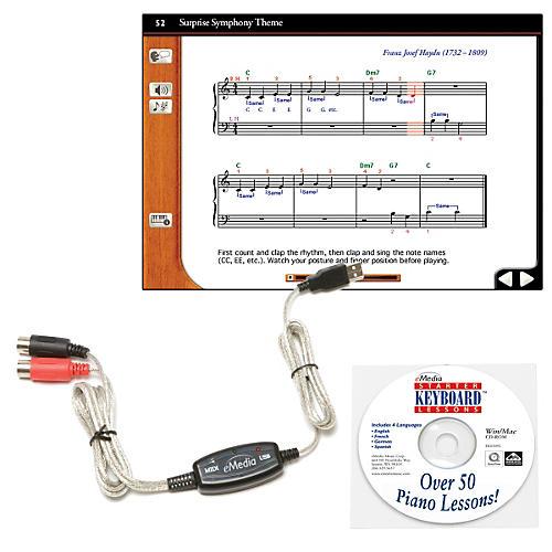 eMedia Keyboard USB MIDI Interface Kit Condition 1 - Mint