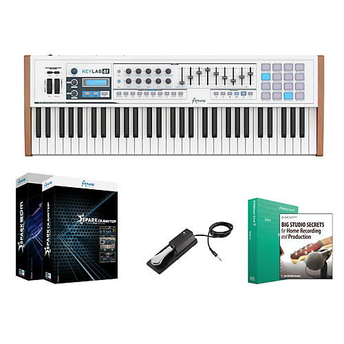 Keylab 61 Keyboard Controller Package 1